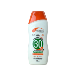 PROTETOR SOLAR NUTRIEX FPS 30 120ML C/ REPELENTE